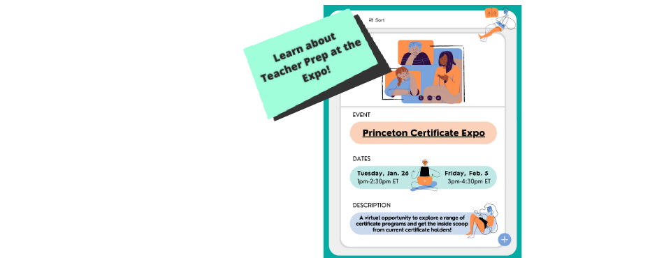 Tprep at the Certificate Expo on Jan. 26 and Feb. 5, 2021