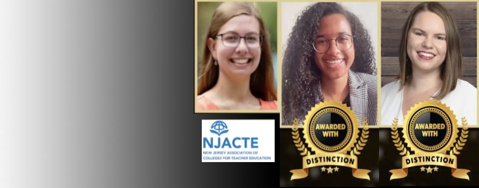 TPP is proud to congratulate (from left to right) Sarah Betancourt '20, Pam McGowen '20, and Morlan Osgood '20 for being nominated for the 2021 New Jersey Distinguished Clinical Intern Award.