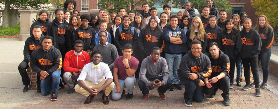 PUPP Juniors and Seniors on 2015 Fall College Tour